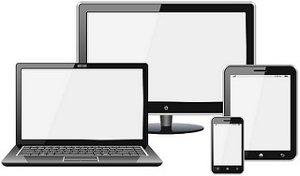 Ecrans ordinateur, tablette et smartphone